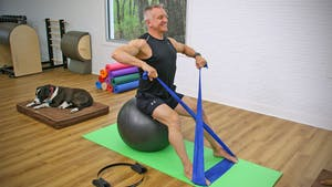 Instant Access to 30 Minute Beginner Mat Circuit with Props by John Garey TV, powered by Intelivideo