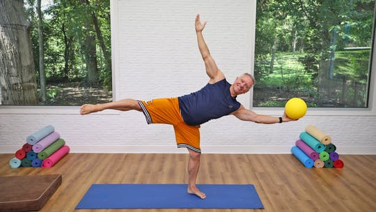 20 Minute Mat Series - Pilates Mat with Small Ball by John Garey TV, powered by Intelivideo