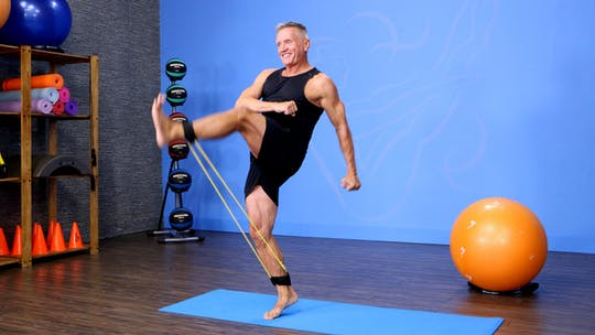 Instant Access to Pilates Mat: All About Legs by John Garey TV, powered by Intelivideo