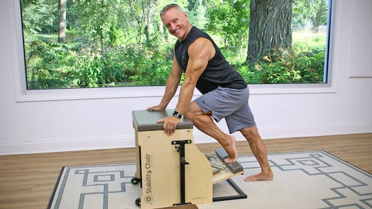 20 Minute Chair Series - Intermediate Workout 1 by John Garey TV