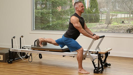 Beginner Reformer Stretch and Mobility Workout 5-28-18 by John Garey TV