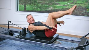 5 Minute Workout Series - Abs on the Reformer Workout 1 by John Garey TV