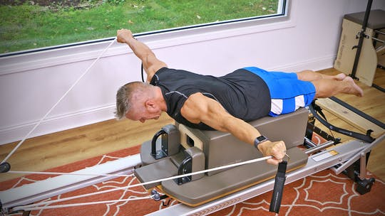 Instant Access to Beginner Reformer Series Workout 3 by John Garey TV, powered by Intelivideo