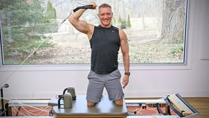 Instant Access to 20 Minute Reformer Workout Series - Upper Body Workout 1 by John Garey TV, powered by Intelivideo