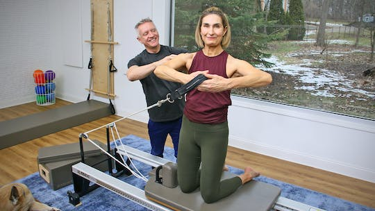 6 Week Intermediate Reformer Challenge - Workout 1 by John Garey TV