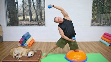 Mat Workout with BOSU and Toning Balls 1-8-20 by John Garey TV
