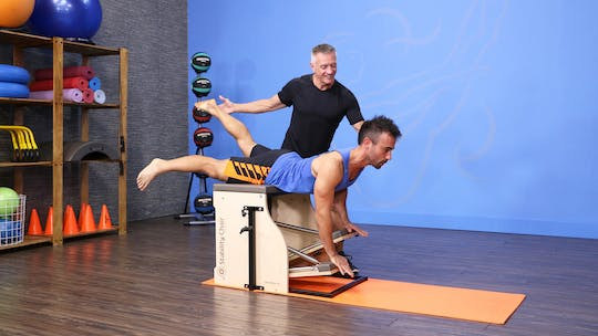 Instant Access to Fitness Chair Workout with Jeremy 1-15-18 by John Garey TV, powered by Intelivideo