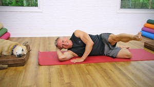 Instant Access to 20 Minute Mat Series - Beginner Workout 1 by John Garey TV, powered by Intelivideo