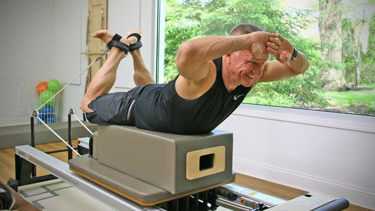 Intermediate Athletic Reformer Workout 6-10-19 by John Garey TV