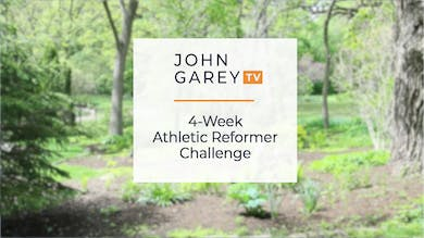 4-week athletic Reformer Challenge Intro by John Garey TV