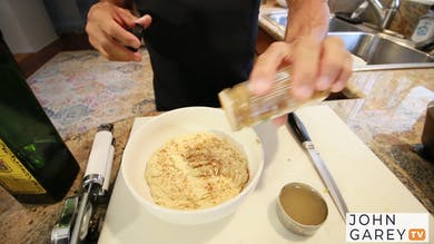 John's Favorite Healthy Hummus Recipe by John Garey TV