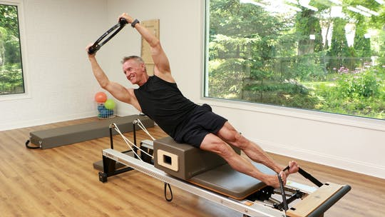 Instant Access to Fitness and Pilates Series - TRX and Reformer Workout 1 by John Garey TV, powered by Intelivideo
