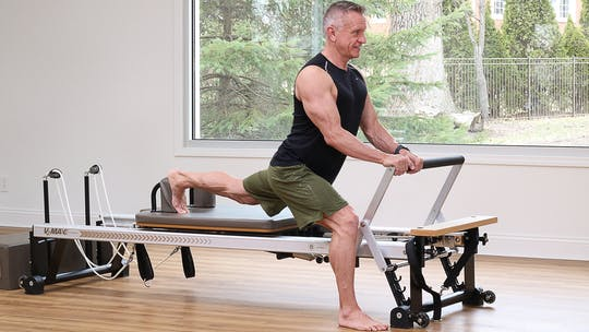 Instant Access to Beginner Reformer (Not Boring) Workout 4-23-18 by John Garey TV, powered by Intelivideo
