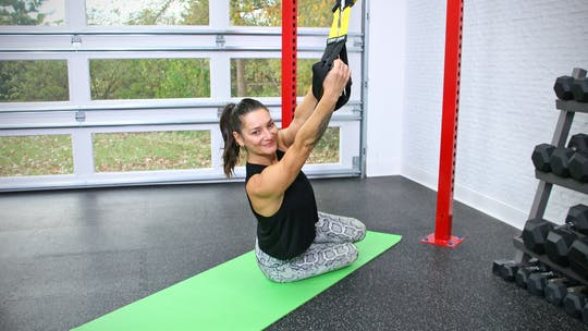 Beginner Pilates Mat and Yoga with TRX by John Garey TV