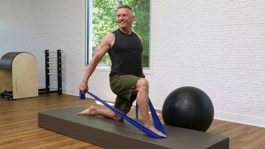 Reformer on the Mat with Ball and Band 6-27-18 by John Garey TV, powered by Intelivideo