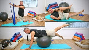 Instant Access to 20 Minute Mat Workout Series - Mat Circuit with Props by John Garey TV, powered by Intelivideo