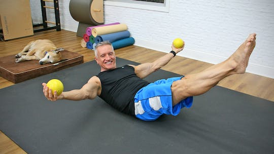 20 Minute Pilates Mat with Weighted Balls by John Garey TV