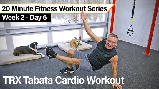 20 Minute Fitness Workout Series - TRX Cardio Tabata by John Garey TV