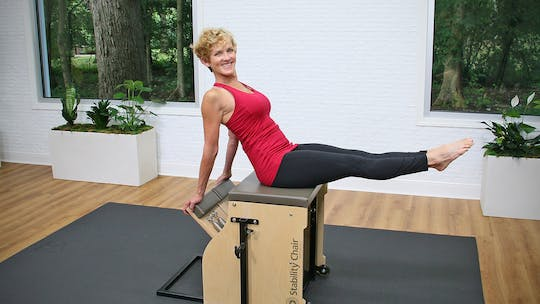 Pilates Chair with Sheri by John Garey TV