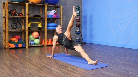 Instant Access to Pilates Mat Circuit with Props 4-3-19 by John Garey TV, powered by Intelivideo