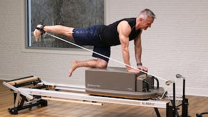 Lower Body Focus Workout on Reformer 4-2-18 by John Garey TV