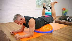 Instant Access to Mat Circuit with BOSU and Fitness Circle 3-6-19 by John Garey TV, powered by Intelivideo