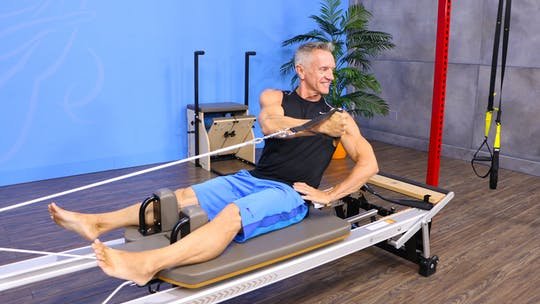 Instant Access to 8-22-16 Reformer Upper Body Focus Workout by John Garey TV, powered by Intelivideo