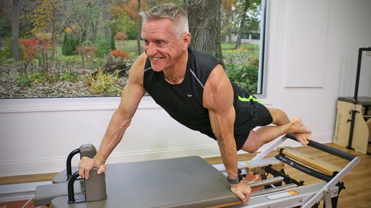 Advance Reformer Strength Workout 11-12-18 by John Garey TV
