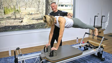 6 Week Intermediate Reformer Series - Workout 16 by John Garey TV