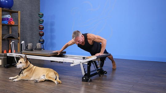 Instant Access to Reformer Fitness Workout 1-8-18 by John Garey TV, powered by Intelivideo