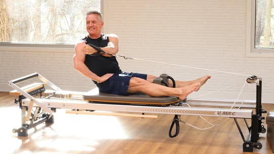 Unilateral Reformer Workout 3-26-18 by John Garey TV, powered by Intelivideo