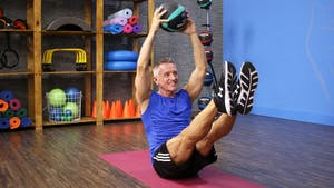 Instant Access to Ab Series - Fitness and Pilates with Med Ball by John Garey TV, powered by Intelivideo