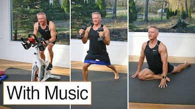 Cycle, Strength and Stretch with Music 11-27-20 by John Garey TV