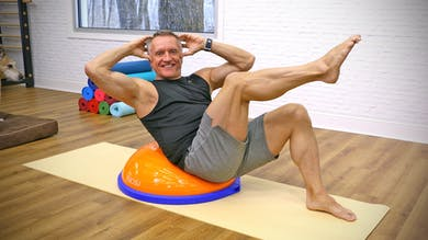 Preview for Intermediate Mat Workout with BOSU 2-20-19 by John Garey TV