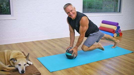 Mat Workout with Medicine Ball 9-18-19 by John Garey TV