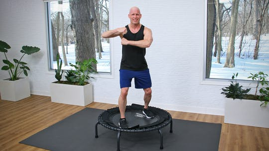 Intermediate Trampoline with Joe - Workout 1 by John Garey TV