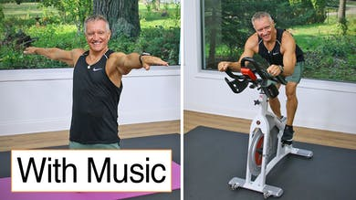 Cycle and Mat Workout with Music 10-16-20 by John Garey TV