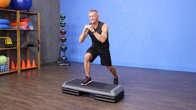 Beginner Step - Lower Body Strength and Cardio Workout by John Garey TV