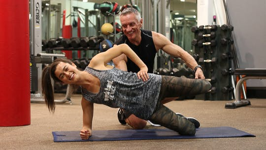 Glutes and Abs Workout with Vanessa 2-16-18 by John Garey TV