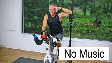 20 Minute Fitness Series - Cycle Workout 2 No Music by John Garey TV