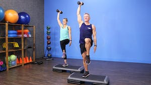 Step Interval Workout 12-15-17 by John Garey TV