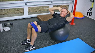 Booty Challenge Workout 7 - with Band, Weights, and Swiss Ball by John Garey TV