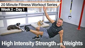 20 Minute Fitness Workout Series - High Intensity Strength with Weights by John Garey TV