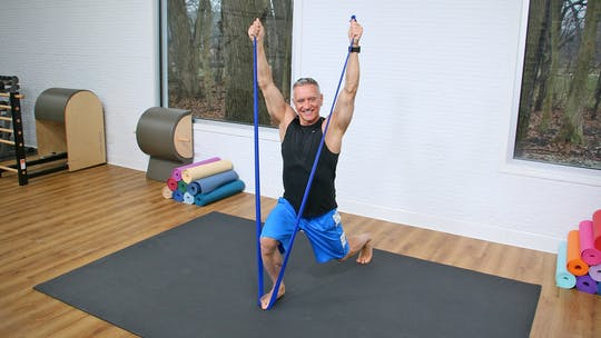 Pilates Mat Workout with Resistance Band 4-1-20 by John Garey TV