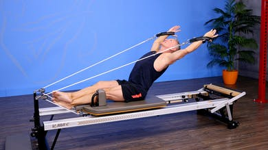 Top 5 Exercises for an Advanced Reformer Express Workout 10-30-17 by John Garey TV