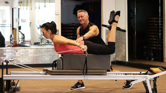 Reformer Workout with Circle with Heather 2-12-18 by John Garey TV, powered by Intelivideo