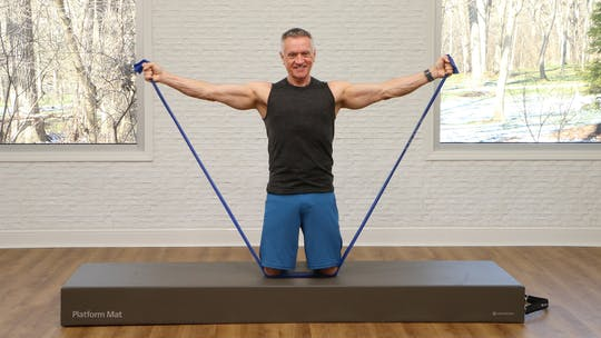 Instant Access to Pilates Mat Summer Body Shoulders and Arms Workout 1 by John Garey TV, powered by Intelivideo