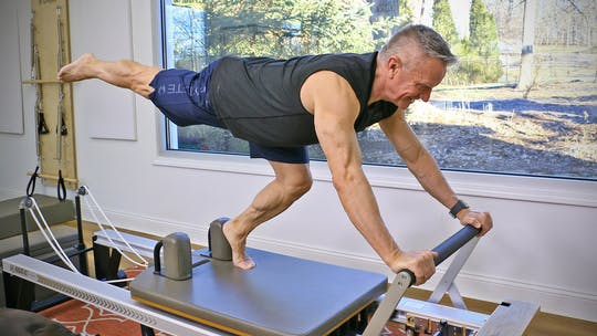 20 Minute Reformer Workout Series - Full Body Workout 1 by John Garey TV