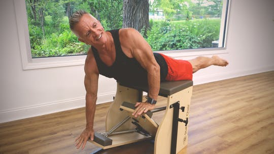 Instant Access to Back to Basics Reformer and Chair Workout 6-21-18 by John Garey TV, powered by Intelivideo