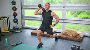 20 Minute Fitness Series - Legs with Weights by John Garey TV